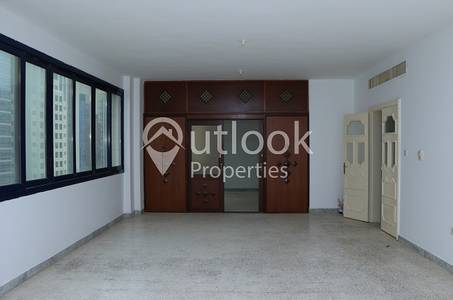 4 Bedroom Flat for Rent in Sheikh Khalifa Bin Zayed Street, Abu Dhabi - HUGE 4BHK+4BATHS+2LIVING HALL near Yateem Optical Khalifa St!