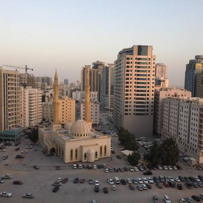 2 Bedroom Apartment for Sale in Al Sawan, Ajman - 2 bhk closed kitchen city  view in Ajman one tower