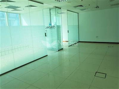 Office for Rent in Jumeirah Lake Towers (JLT), Dubai - Fitted Office with Partition | Fortune Tower | JLT