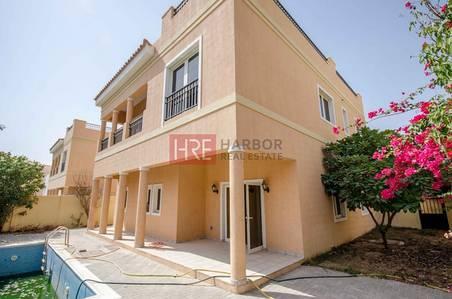 5 Bedroom Villa for Sale in The Villa, Dubai - 5BR Mazaya A1 Villa Facing Park with  Beautiful Garden