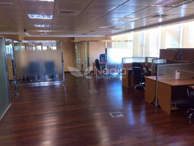 Office for Rent in Jumeirah Lake Towers (JLT), Dubai - Fitted and Furnished Office | With Balcony| Indigo Icon| JLT