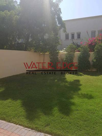 3 Bedroom Villa for Rent in The Springs, Dubai - Very Nice Garden I Opposite Lake and Nice Garden