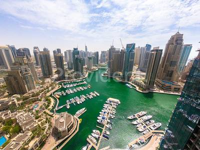 3 Bedroom Apartment for Rent in Dubai Marina, Dubai - Stunning Marina View 3 Bed for rent! Final Layout