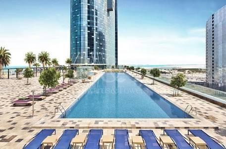 2 Bedroom Flat for Sale in Al Reem Island, Abu Dhabi - Best in Class Seaview 2bed apt Sky Tower