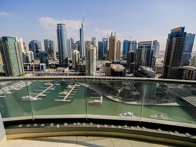 2 Bedroom Apartment for Rent in Dubai Marina, Dubai - Lovely furnished 2 bed with Marina views