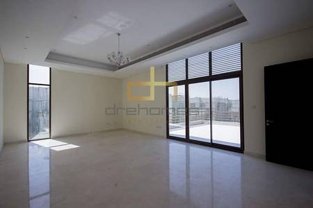 5 Bedroom Villa for Rent in Meydan City, Dubai - Standalone type A with Burj Khalifa View