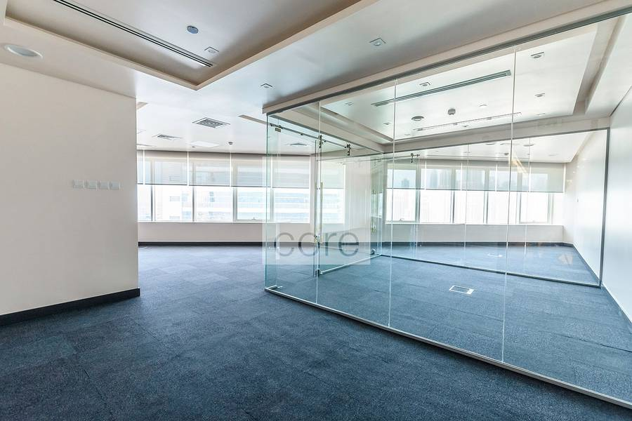 Fitted office with partitions in Westburry