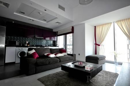 1 Bedroom Apartment for Sale in Dubai Marina, Dubai - Rented   Furnished 1 BR   Marina and Sea