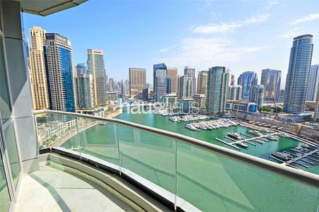 3 Bedroom Apartment for Rent in Dubai Marina, Dubai - Vacant | Fully Furnished | Chiller Free