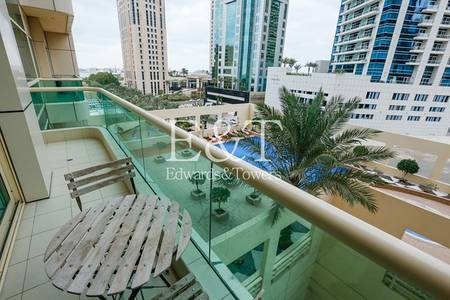 1 Bedroom Flat for Sale in Dubai Marina, Dubai - Vacant Now / Pool View/ Excellent Layout