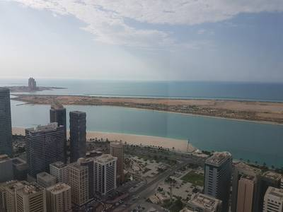 3 Bedroom Flat for Rent in Liwa Street, Abu Dhabi - One month free Sea View 3Br flat with facilities at Souq Mall