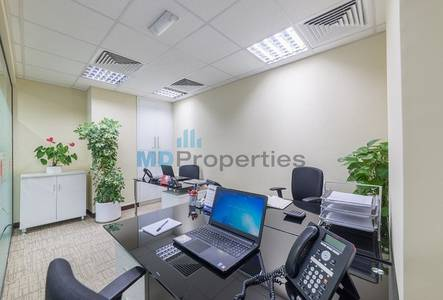Office for Rent in Jumeirah Lake Towers (JLT), Dubai - Fully Fitted and Furnished Office