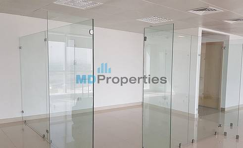 Office for Rent in Jumeirah Lake Towers (JLT), Dubai - Fitted and Partitioned Office Grade A Tower JLT