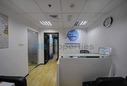 Office for Sale in Jumeirah Lake Towers (JLT), Dubai - Great Investment  For spacious Fitted Office JLT