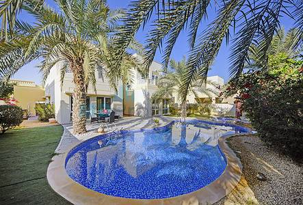 4 Bedroom Villa for Sale in The Meadows, Dubai - Exclusive Fully Upgraded 4 bed villa with private pool and Maid's room