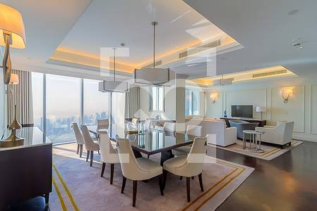 4 Bedroom Penthouse for Rent in Downtown Dubai, Dubai - Spectacular View|4 BR Penthouse|Centerpiece of Downtown