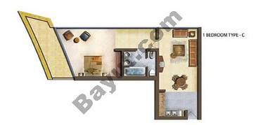 1 Bedroom Type C