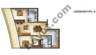 2 Bedroom Type B