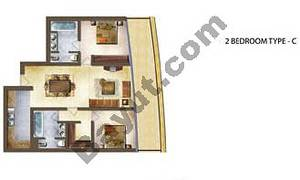 2 Bedroom Type C