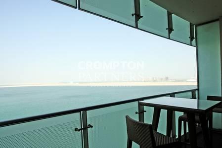 2 Bedroom Flat for Rent in Al Raha Beach, Abu Dhabi - Full Sea View 2 Balconies