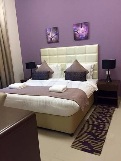 1 Bedroom Flat for Rent in Downtown Jebel Ali, Dubai - Fully Furnished 1 Bed in Suburbia Tower