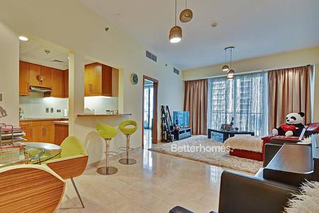 1 Bedroom Flat for Sale in Dubai Marina, Dubai - 1/Bedroom +  study Marina & Sea & Marina Apartment .