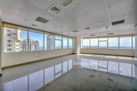 Office for Rent in Jumeirah Lake Towers (JLT), Dubai - Fully Fitted and Partitioned Office in JLT