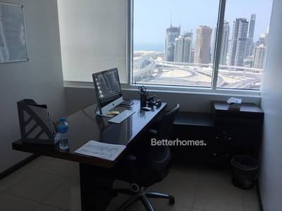 Office for Rent in Jumeirah Lake Towers (JLT), Dubai - Great layout   Partitioned   On Mid-floor