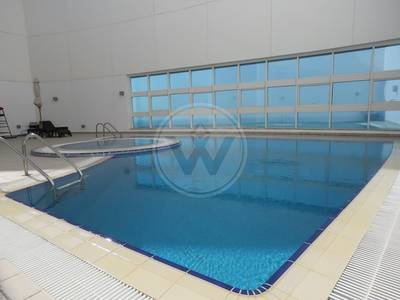 3 Bedroom Flat for Rent in Al Mina, Abu Dhabi - NO COMMISSION|Sea view|Well Located Bldg
