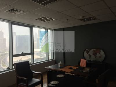Office for Sale in Business Bay, Dubai - Spacious Fitted & Partitioned Office for Rent in Ontario Tower - Close to Business Bay Metro Station