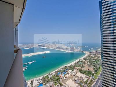 3 Bedroom Flat for Rent in Dubai Marina, Dubai - 3BR For Rent | Elite Residence| Sea View