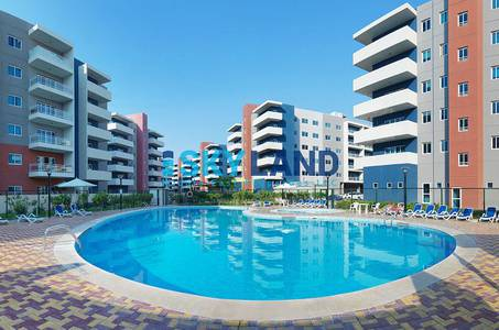 2 Bedroom Flat for Sale in Al Reef, Abu Dhabi - perfect investment 2beds apt garden view