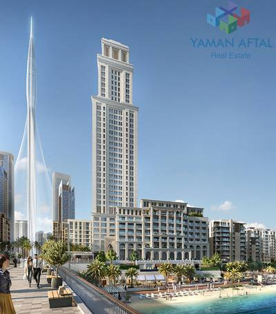 فلیٹ  للبيع في ذا لاجونز، دبي - Sleek 3-Bedroom Apartment for Sale in Breeze by Emaar  (Off-Plan)