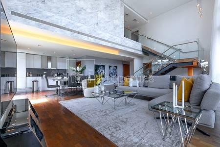 3 Bedroom Flat for Rent in Jumeirah, Dubai - Gorgeous  Duplex with Burj Khalifa Views