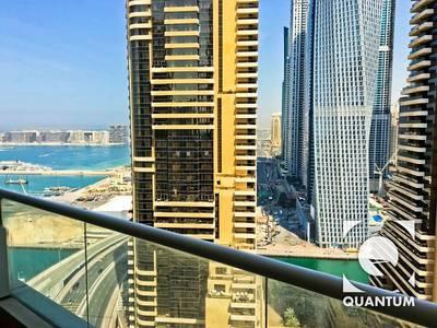 1 Bedroom Apartment for Rent in Dubai Marina, Dubai - Unfurnished - High Floor - Multiple Chqs