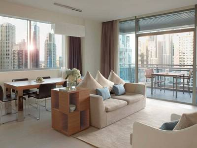 2 Bedroom Hotel Apartment for Rent in Dubai Marina, Dubai - Fully Serviced |All Inclusive |Bills inc