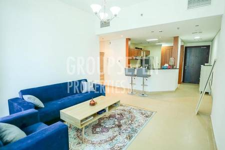 1 Bedroom Flat for Rent in Jumeirah Lake Towers (JLT), Dubai - Lovely Furnished 1 BR in Lakeside JLT for rent Only for 65K