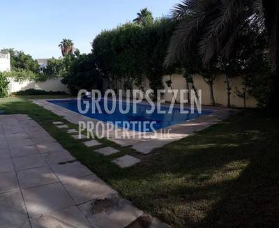 5 Bedroom Villa for Rent in The Meadows, Dubai - Private Pool 5 BDR Type 7 Family Home