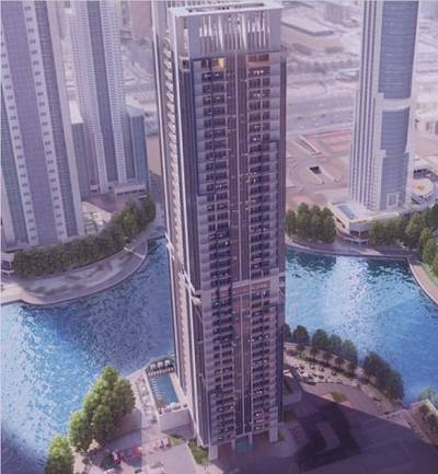 2 Bedroom Apartment for Sale in Jumeirah Lake Towers (JLT), Dubai - pay 38k only and own  1 Bed room at JLT