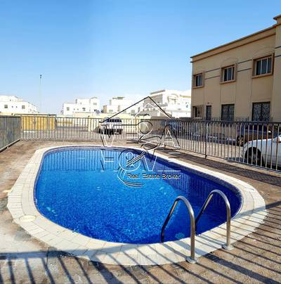 4 Bedroom Villa for Rent in Khalifa City A, Abu Dhabi - Great Value ! Spacious 4 Master Bed Villa w/ Sheared pool Only 110K