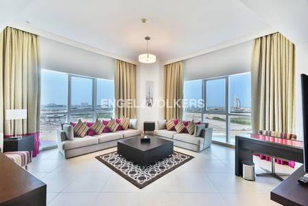3 Bedroom Hotel Apartment for Rent in Al Barsha, Dubai - Exclusive | All bills included |Serviced
