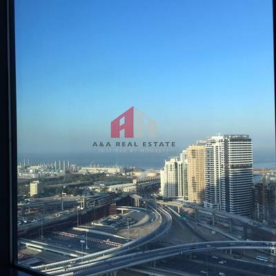 1 Bedroom Apartment for Rent in Jumeirah Lake Towers (JLT), Dubai - MARINA VIEW !!  1 Bedroom available for Rent in Lakeside JLT