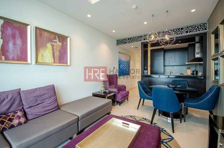 2 Bedroom Flat for Rent in Downtown Dubai, Dubai - Elegant 2BR with Stunning Burj Khalifa View!