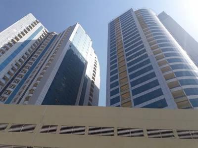 Studio for Sale in Al Bustan, Ajman - Very good studio for sale in orient towers ajman sea view