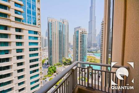 1 Bedroom Flat for Rent in Downtown Dubai, Dubai - Fountain and Burj View | Blvd Central 2
