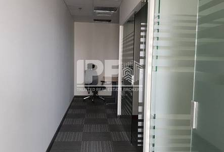 Office for Rent in Jumeirah Lake Towers (JLT), Dubai - Partition vacant Mazaya Business Ave AA1