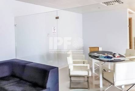 Office for Rent in Jumeirah Lake Towers (JLT), Dubai - Partitions | Vacant | Lake View | JBC 2
