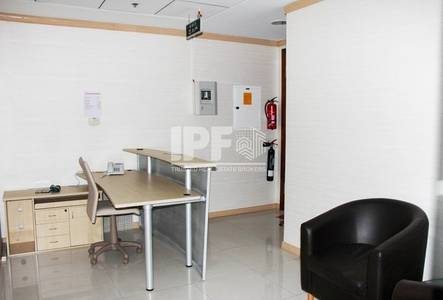 Office for Rent in Jumeirah Lake Towers (JLT), Dubai - Partitions |Vacant |Close to Metro| Saba 1