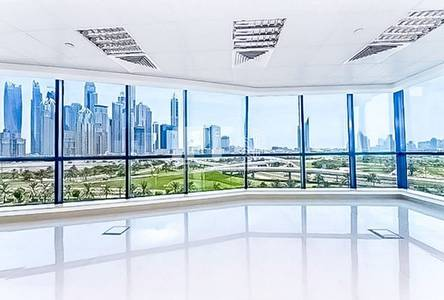 Office for Rent in Jumeirah Lake Towers (JLT), Dubai - Fitted Office | Lake View | Vacant | X3
