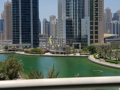 1 Bedroom Flat for Rent in Jumeirah Lake Towers (JLT), Dubai - 850 sq.ft. 1 Bedroom with 2 Bathrooms & Lake View in Goldcrest Views 2